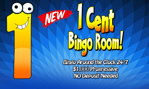 1 Cent room - AmigoBingo.com