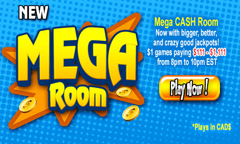 NEW MEGA Room are here!