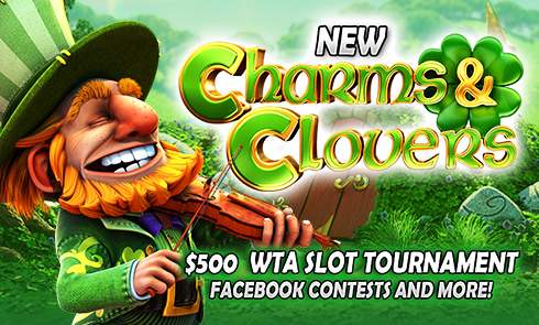 NEW Charms & Clovers $500  WTA Slot Tournament