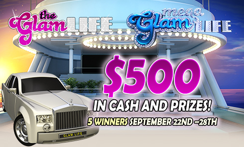 Glam Life with $500 in cash and prizes!