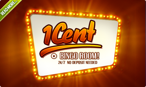 NEW 1 Cent Bingo Room!