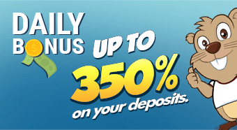 Daily Bonus up to 350%