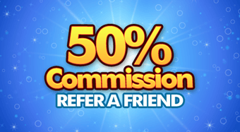 50% Commission Refer a Friend
