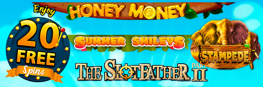 20 Free Spins Every Monday